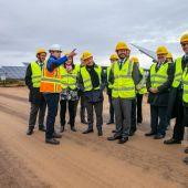García-Page ha inaugurado el complejo solar de Alcázar de San Juan