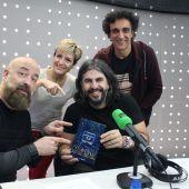 Los humoristas presentan el libro 'Monólogos 3.0'