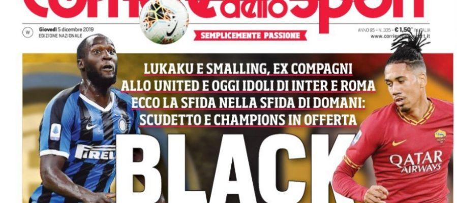 La polémica portada del 'Corriere dello Sport'
