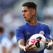 Ayoze Pérez, atacante del Leicester.