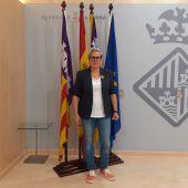 Sonia Vivas, regidora de Unidas Podemos en el Ayuntamiento de Palma