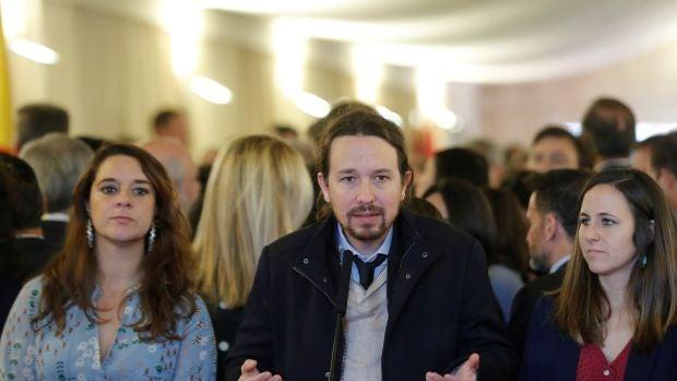 """Pablo Iglesias: """"Todo aquel que acuse a Podemos de algún delito, que vaya a los tribunales"""""""