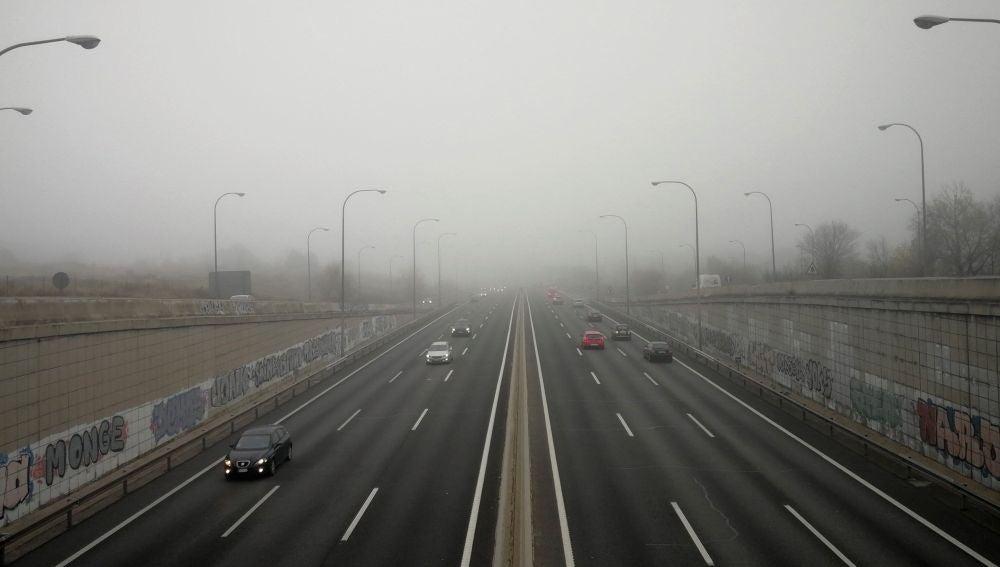 La niebla en la operación de salida
