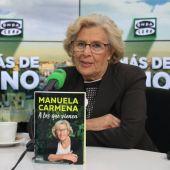 Manuela Carmena, en Más de uno.