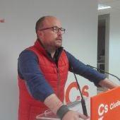 Alejandro Ruiz, secretario de organización de Cs en CLM