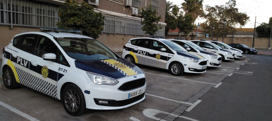 Coches de la Policía Local de València
