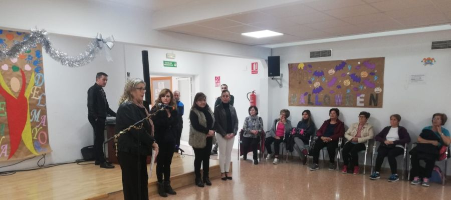 Inauguración de las actividades de la Semana del Mayor en Crevillent.