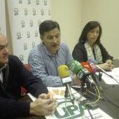Julián Morcillo durante la rueda de prensa en Ciudad Real