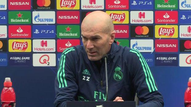 """Zidane: """"Si pienso en el Clásico, me equivoco"""""""