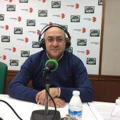 Florencio Rodríguez, en los estudios de Onda Cero Ciudad Real