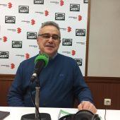 Lorenzo Domínguez, durante la entrevista en Onda Cero Ciudad Real