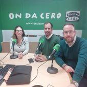 Amparo Cerdá, José Navarro y Héctor Díez