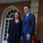 Francina Armengol y Pedro Sánchez en una foto de archivo
