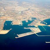 Vista del puerto de València