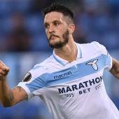 El centrocampista de la Lazio, Luis Alberto.
