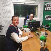 Ana Mourenza en los estudios de Onda Cero