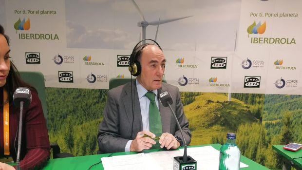 """Ignacio Galán, presidente de Iberdrola: """"La transicion energética de Iberdola empezó hace 20 años"""""""