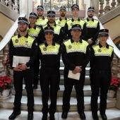 Agentes de la Policía Local de Málaga