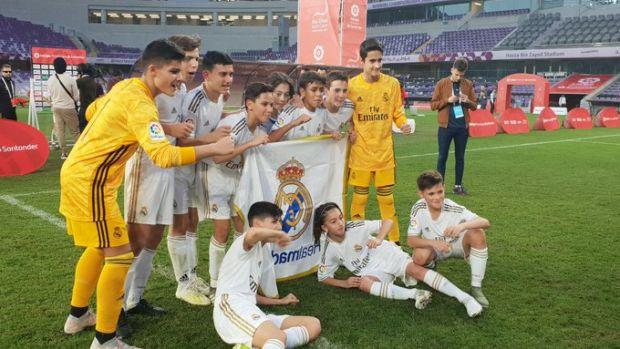 El Real Madrid, campeón de LaLiga Promises