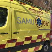 Una ambulancia del SAMU 061