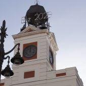 El reloj de la Puerta del Sol
