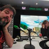 Fran Contreras y Begoña Gómez
