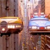 Coches voladores en la película El Quinto Elemento