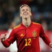 Dani Olmo, con la selección española