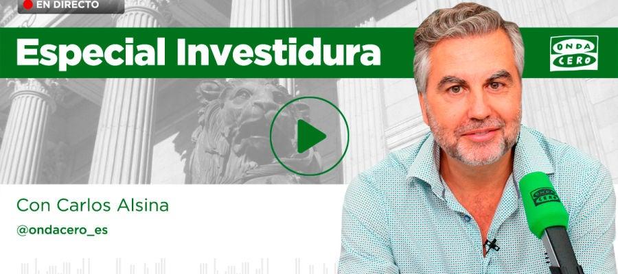 Especial investidura, con Carlos Alsina