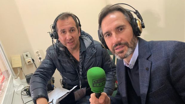 """Vicente Moreno """"No es normal jugar 48 después"""""""