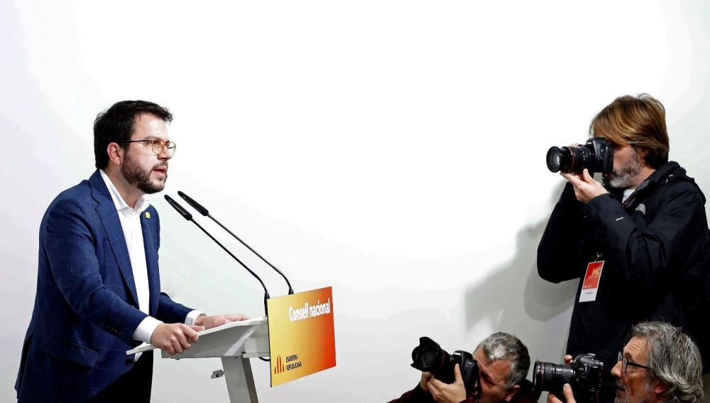 Pere Aragonès en una imagen de archivo