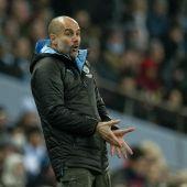 El entrenador del Manchester City, Pep Guardiola.