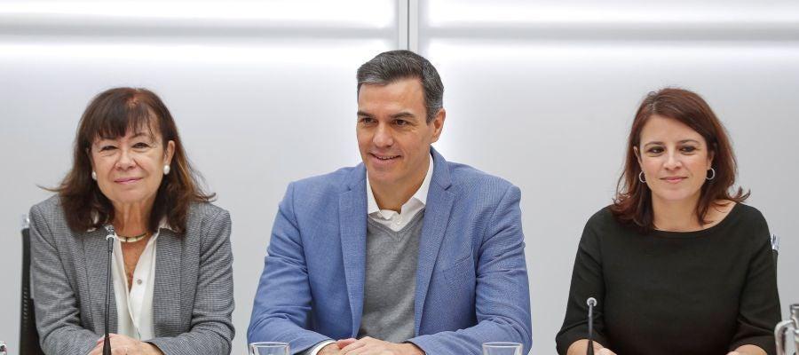La Ejecutiva del PSOE ratifica el acuerdo con ERC