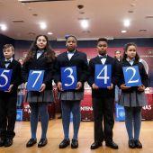 El 57342, primer premio del sorteo de El Niño.