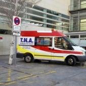 Ambulancia TNA en Elche.