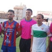 El Elche CF se impuso en su última visita al Yeclano Deportivo, en el Trofeo del Vino; empató 1-1 al término de los 90 minutos y fue mejor en los penaltis (0-3).