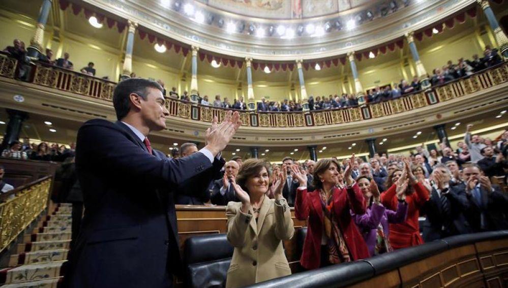 Pedro Sánchez investido presidente