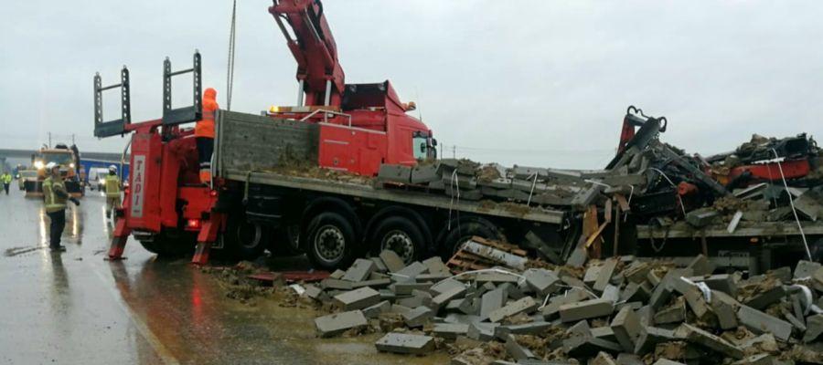 Accidente de tráfico en Osera de Ebro