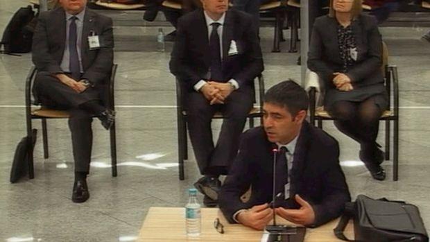 Trapero admite que informaba a Interior de los planes de la Fiscalía contra el 1-O