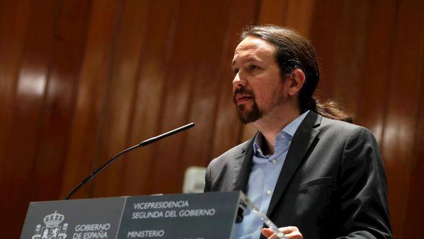 Una amigdalitis aparta a Pablo Iglesias de la mesa de negociación sobre Cataluña