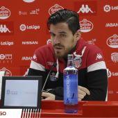 El central ilicitano, Josete Malagón, futbolista del CD Lugo.