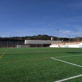 Campo de césped artificial de la Ciudad Deportiva Norte de Crevillent.