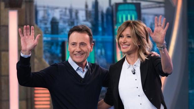 La tele con Monegal: Matías Prats y Susanna Griso, en El Hormiguero con motivo del 30 aniversario de Antena 3