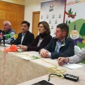 Julián Morcillo, duran la rueda de prensa que ha ofrecido en Ciudad Real