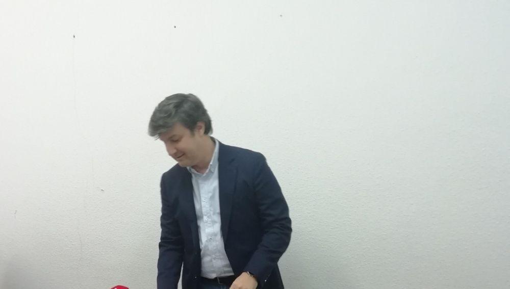 Eduardo García-Ontiveros, en el Ayuntamiento de Elche.