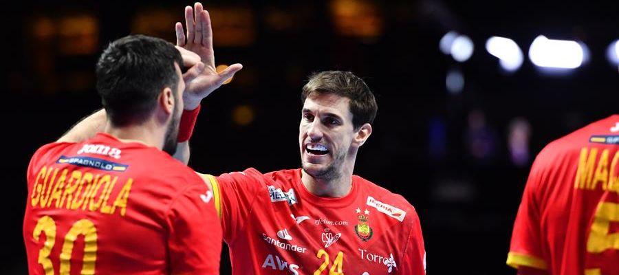 La Selección española de balonmano.