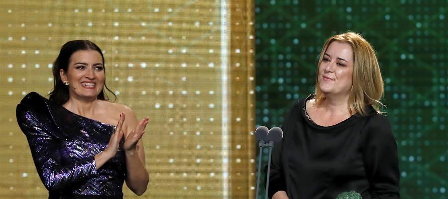 Carla Pérez, ganadora del Goya a mejor producción