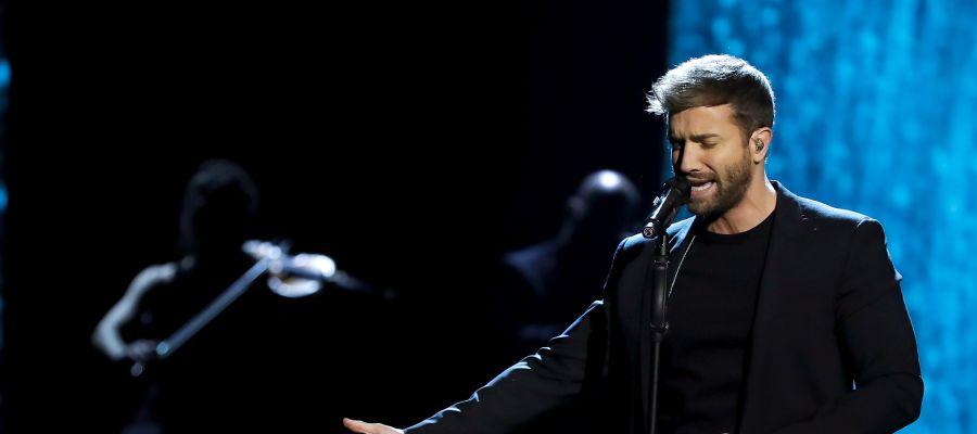 Pablo Alborán canta 'Sobreviviré' en la gala de los Goya 2020