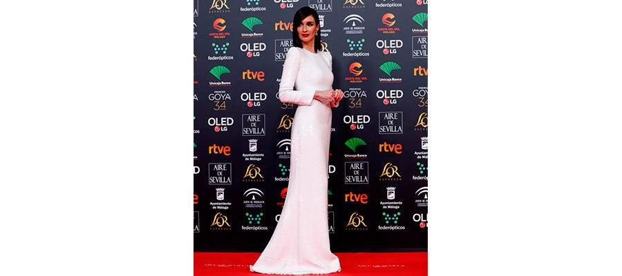 Paz Vega Goya 2020-Vestido completo