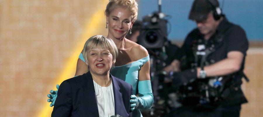 Teresa Font, ganadora del Goya al mejor montaje por 'Dolor y gloria'